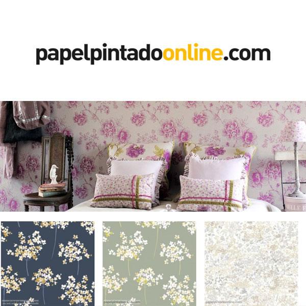 papel-pintado-flores